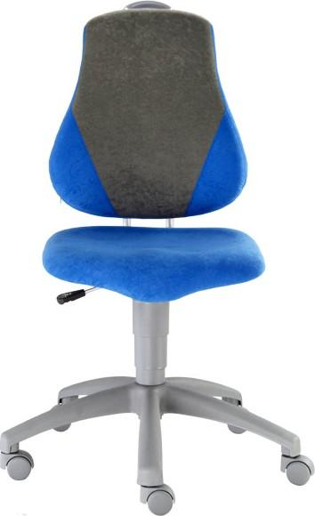 ALBA dětská rostoucí židle FUXO V-line sv. zelená + oranžová