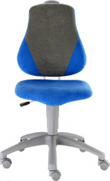 detská rastuca stolička FUXO V-line sv. zeleno-oranžová