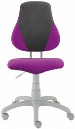 detská rostoucí stolička FUXO V-line fialovo-šedá