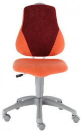detská rostuca stolička FUXO V-line oranžovo-vínová