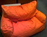Sedací pytel Arm chair Omni Bag oranžový