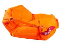 sedací vak 189x140 COMFORT s popruhmi fluo orange, č. AOJ258