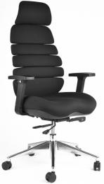 kancelárská stolička SPINE čierna s PDH