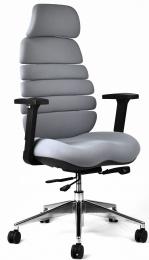 kancelárska stolička SPINE sivá s PDH