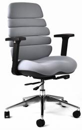 kancelárska stolička SPINE sivá