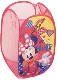 Dětský skládací koš na hračky Minnie Mouse