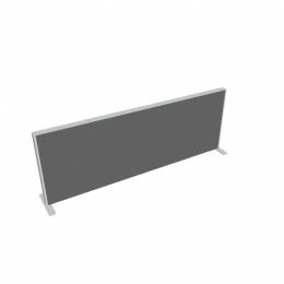 Paraván na plochu stolov dĺžka 180 cm TPA S 1800 SK 2 (s 2 koncovými stĺpiky)