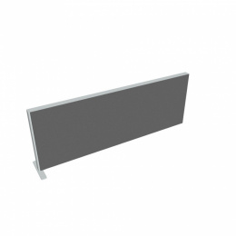 Paraván na plochu stolů délka 140 cm TPA S 1400 SK 1 (s 1 koncovým sloupkem)
