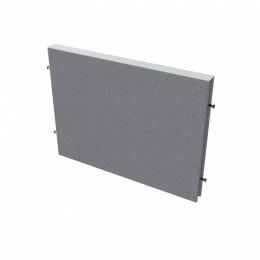 Paraván na plochu stolov dĺžka 80 cm TPA S800 (bez koncových stĺpikov)