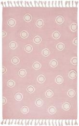 Dětský koberec Ring - růžový 160x230 cm