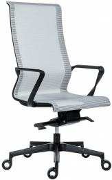 kancelárská stolička 7700 EPIC HIGH BLACK