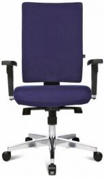 Kancelárska stolička - LIGHT STAR 20 tmavě modrá, sleva č. A1204.sek