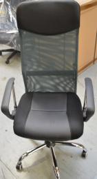 stolička  IDAHO šedá sieťovina, č. AOJ276