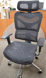 kancelářská ARIES JNS-701, černá W-51, č. AOJ289