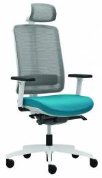 kancelářská FLEXI FX 1103 A, bílé provedení