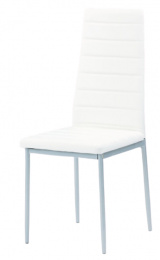 Jedálenská stolička DCL-117 biela