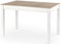 rozkládací stůl Maurycy dub sonoma a bílá