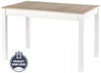 skládací stôl Maurycy dub sonoma a bílá