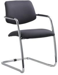 Konferenčná stolička THEO 264-KZ-N4, kostra chrom