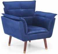 Relaxační křeslo REZZO Modrá