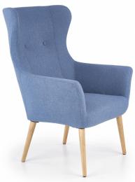 Relaxační křeslo COTTO modrá