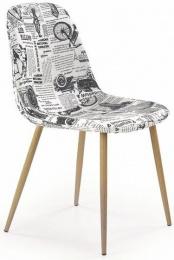 Jedálenská stolička K220 viacfarebná