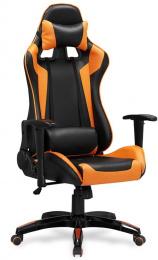 herní DEFENDER čierno-oranžová