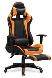 Herní DEFENDER 2 černo-oranžová