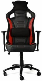Herné kreslo RS-LINE Gaming Pro black+red