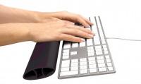 Opěrka zápěstí ke klávesnici I-SPIRE černá