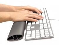 Opěrka zápěstí ke klávesnici I-SPIRE šedá