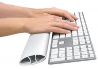 Opěrka zápěstí ke klávesnici I-SPIRE bílá