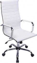 Kancelárske kreslo PE-A13 Ronin biela
