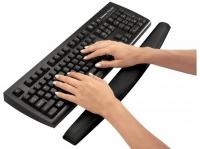 Opěrka zápěstí ke klávesnici Fellowes pěnová černá