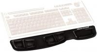 Opěrka zápěstí ke klávesnici Fellowes Health-V CRYSTAL gelová Microban černá