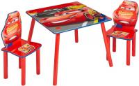 Detský stôl so stoličkami CARS