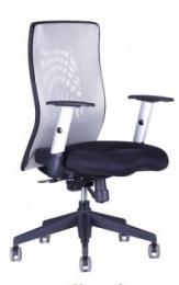 kancelárska stolička CALYPSO XL světle šedá, č. AOJ423S