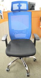 kancelárska stolička MARIKA YH-6068H modrá, č. AOJ431