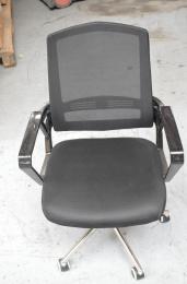 študentská stolička SUN, čierná čAOJ477