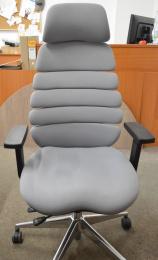 kancelárska stolička SPINE sivá s PDH č.AOJ481