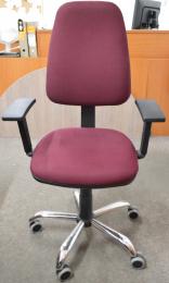 pracovná stolička 1140 ASYN C chrom č.AOJ499