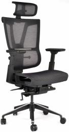 Kancelárská stolička MISSION čierna, č. AOJ516