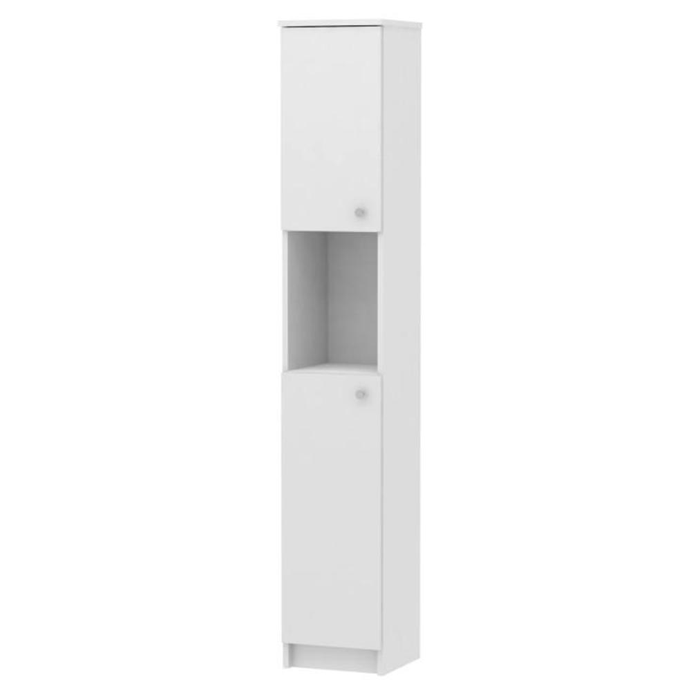 Vysoká skříňka, bílá, GALENA SI14