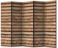 Paraván dřevěná roleta 5ti dílný