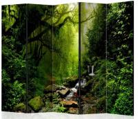 Paraván Pramen v lese 5ti dílný