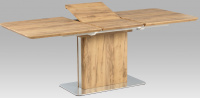 jedálenský stôl rozkl. HT-670 OAK, 160+50x90 cm
