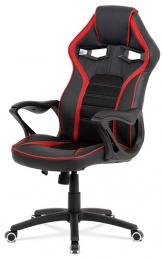 Kancelárska stolička KA-G406 RED
