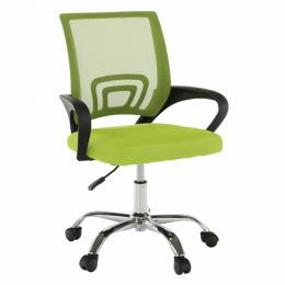 Kancelářská židle, zelená / černá, DEX 2 NEW