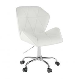 Kancelárská stolička, biela, TWIST