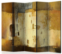 Paraván zlatá jedinečnosť II 5tich dielny
